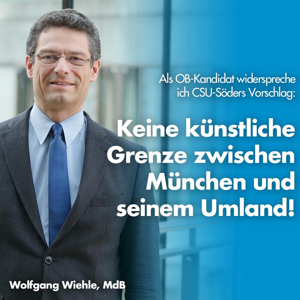 Wolfgang Wiehle, MdB