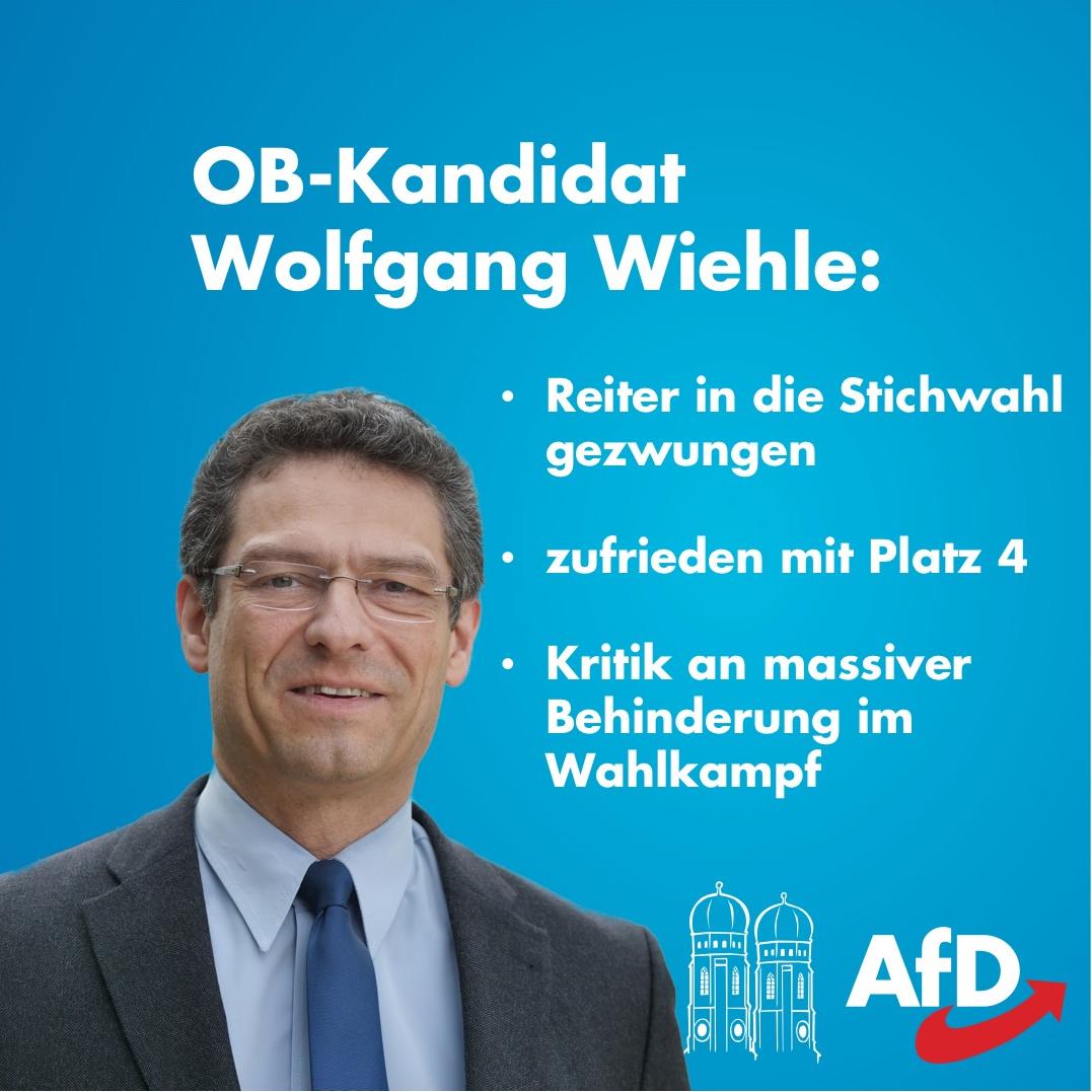 Wolfgang Wiehle Kommunalwahl 2020