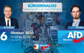 Bürgerdialog_Bystron+Peterka_Entlassungswelle_Automobilindustrie